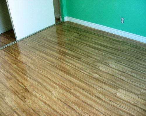 Exotic Walnut Glossy Laminate Floor