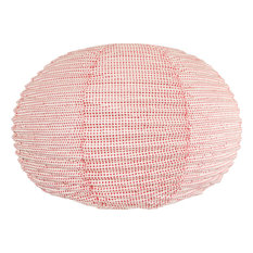 Lokta Paper Lampshade With Red Dots