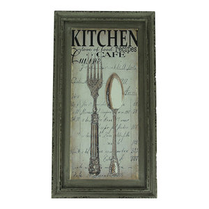 Extra Large Fork And Spoon Wall Decor from st.hzcdn.com