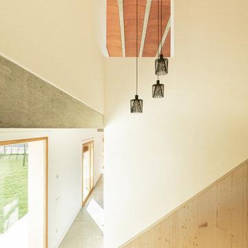 Casa Canyes. Habitatge unifamiliar aïllat d'obra nova