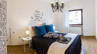 Schlafzimmer mit Home Staging gleich viel einladender