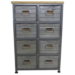 Industrial Dressers by Emerald Home