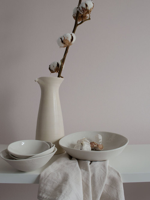 Still Life Study in Soft Pink - Tableware