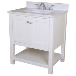 Contemporary Bathroom Vanities And Sink Consoles by Home Elements Distribution LLC