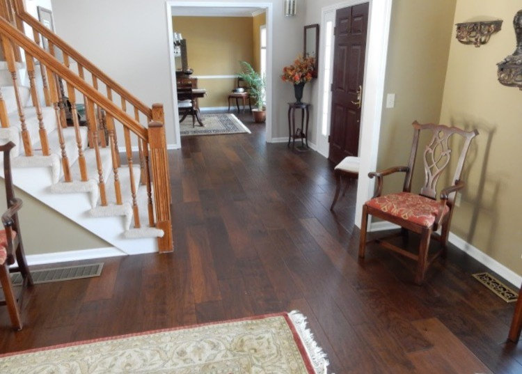 Webster, NY Home featuring Hallmark Hardwood