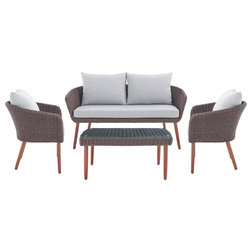 Tropical Outdoor Lounge Sets by Bolton Furniture, Inc.