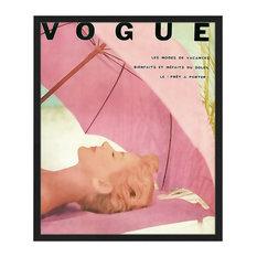 """""""Vogue Cover"""" Framed Print, 50x60 cm"""