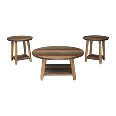 Raebecki Casual Multi-Colored 3-Piece Occasional Table Set