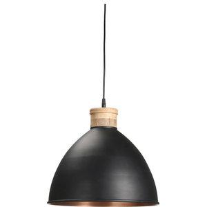 Roseville Pendant Light, Black, Large