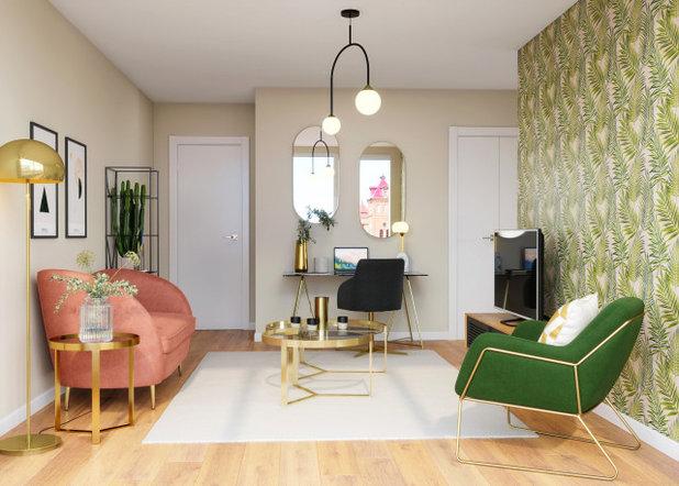 Classique Chic Salon by Agence HÔM