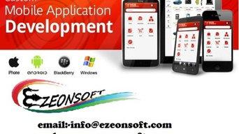 mobile app deveopmnet-ezeonsoft