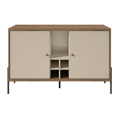 Manhattan Comfort Joy Buffet Stand In Off White 350634