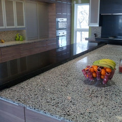 Inspired Composites Recycled Glass Countertops Lincoln