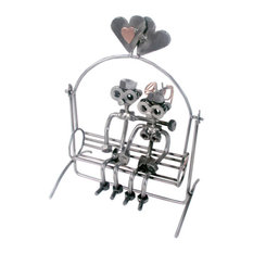Love Swing, Nuts And Bolts Metal Figurine