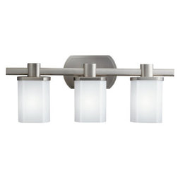 New Transitional Bathroom Vanity Lighting by Build