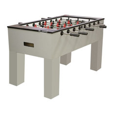 Sure Shot Is Stainless Laminate Flush Legs Foosball Table By Performance Games