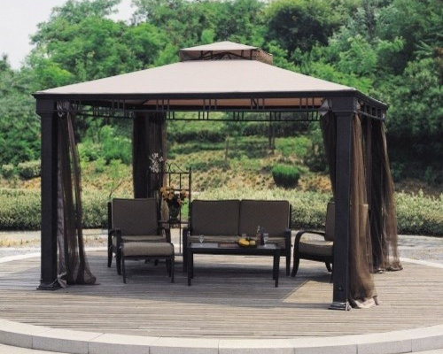 Garden Oasis Bay Window Gazebo Home Design Ideas And Pictures