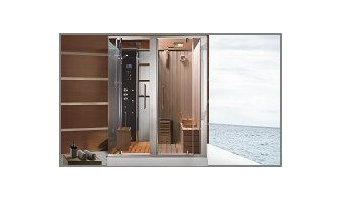 Combination Steam Shower \ Infrared Sauna