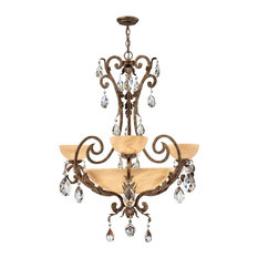 Fredrick Ramond FR44100 Barcelona 9 Light Chandelier
