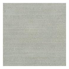 Kenneth James - Jin Light Gray Grasscloth Wallpaper, Bolt - Wallpaper