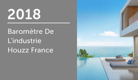 Baromètre de l'industrie Houzz France 2018