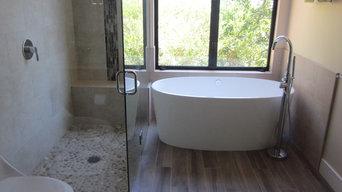 Saratoga Master Bathroom