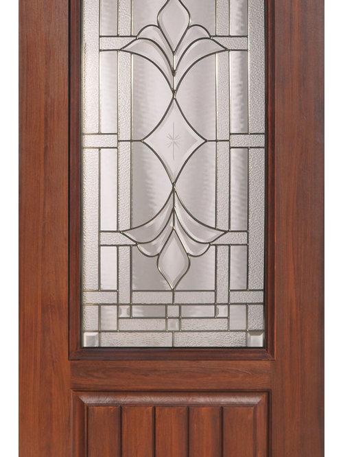 Marsala Decorative Glass Front Door . Decorative Front Doors. Home Design Ideas
