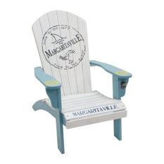 Shelter Logic 630284-1 Painted Margaritaville Adirondack Chair