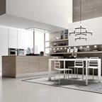 Flat renovation london contemporary kitchen london - Febal cucine spa ...