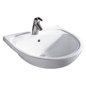 American Standard 9960 901 Mezzo Drop In Bathroom Sink