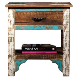Beach Style Nightstands And Bedside Tables by Crafters and Weavers