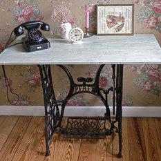 landhausstil schminktische frisiertische. Black Bedroom Furniture Sets. Home Design Ideas