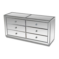 Furniture Import U0026 Export Inc.   Jameson Silver Mirrored Bedroom Dresser    Dressers