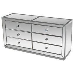 Transitional Dressers by Furniture Import & Export Inc.