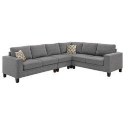 Transitional Sectional Sofas by Lilola Home