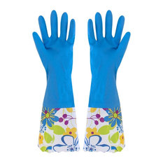 Kitchen Gloves Cleaning Gloves Waterproof Latex Gloves Laundry Gloves