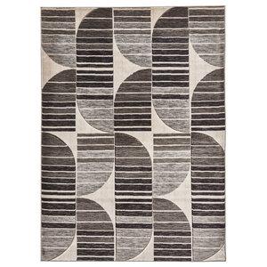 Pembroke Grey Rectangular Rug, 160x230 cm