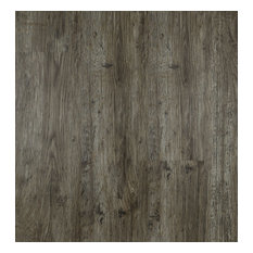4.5mm HDPC Rigid Core Vinyl Plank with Pad, Ashen Gray