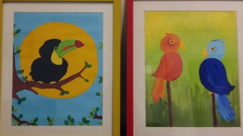 Paintings for kids playroom