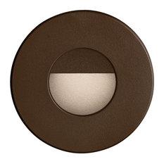Dainolite DLEDW-300-BZ 3.3W 60 Degree 1 LED In/Outdoor Round Wall Light