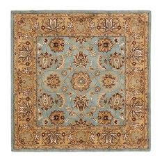 Safavieh Rana Hand Tufted Rug Blue Gold 10 X10 Square