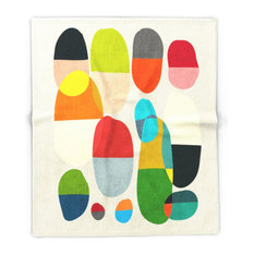 "Jagged Little Pills Blanket, 88""x104"""