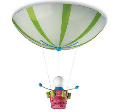 Great Eclectic Kids Ceiling Lighting by Philips Philips Kidsplace Ceiling Light Hot Air Balloon