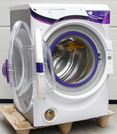 Need help - - front load washing machine (water & mold)