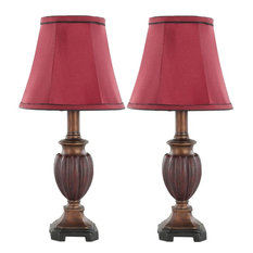 "Safavieh Hermione 17""H Urn Lamps, Set of 2"