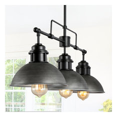 3-Light Linear Chandeliers Kitchen Island Pendant Lighting