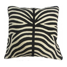 Handmade Zebra Marrakesh Pillow