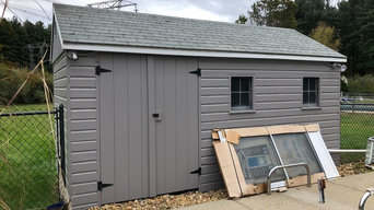 Pool Deck and Shed - Bedford, NH