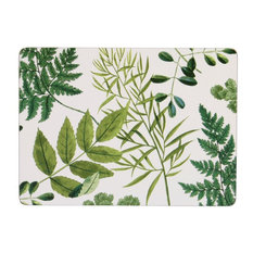 Foliage Corked Placemats, Set of 4