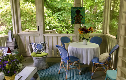 Houzz Writer Becky Harris Shares Her Atlanta Porch and Bathroom